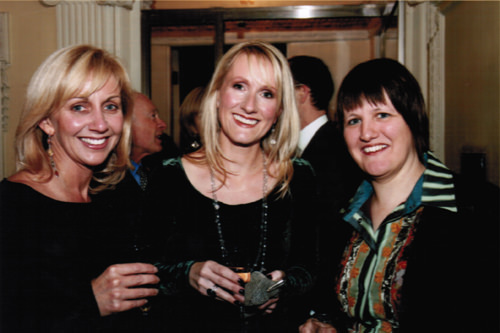 Hilary Robinson (author), Jane Abbott (illustrator) and Sophie Hicks (agent at Ed Victor Ltd)