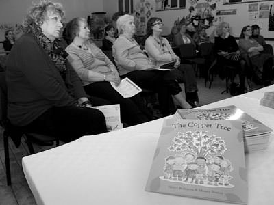 The Copper Tree book tour at the WI in Lumbly