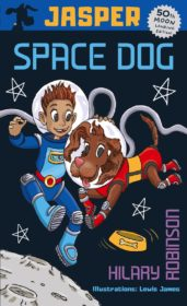 Book cover for Jasper Space Dog.