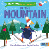 Book cover for Gregory Goose up the mountain.