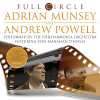 Full Circle album cover by Adrian Munsey and Andrew Powell