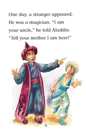 Illustration from Aladdin and the Lamp