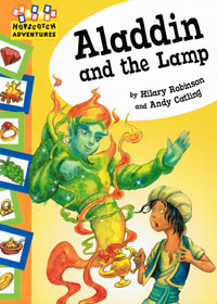 Aladdin and the Lamp, front cover