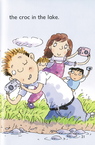 Illustration from Croc by the Rock