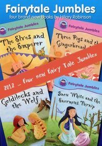 Four new Fairy Tale Jumbles to be published in 2012