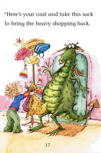 Illustration from How to Teach a Dragon Manners