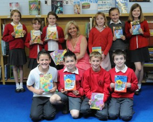 Hooray It's Book Day at Barming School, Kent