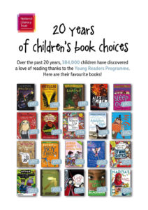 Twenty years of favourite books put together by the National Literacy Trust