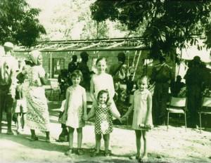 The Robinson sisters in Zaria, Nigeria - 1968