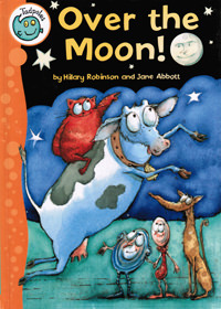 Over the Moon! - front cover