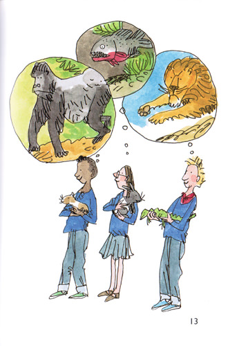 Illustration from Pet to School Day