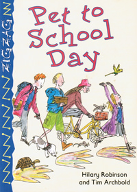 Pet to School Day front cover
