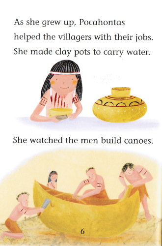 Illustration from Pocahontas the Peacemaker