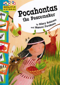Pocahontas the Peacemaker - front cover