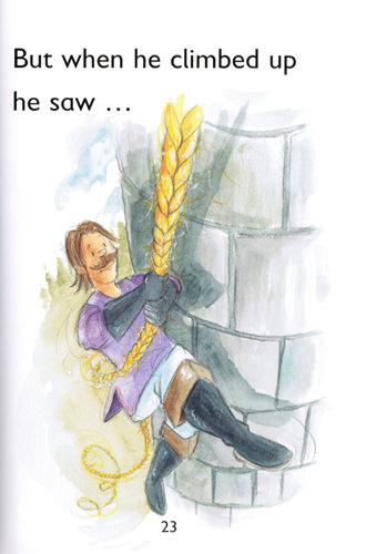 Illustration from Rapunzel