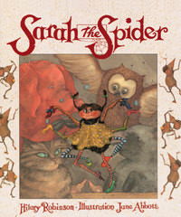 Sarah the Spider - front cover