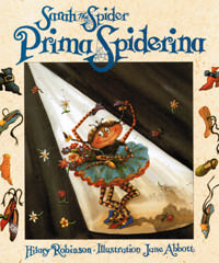 Sarah the Spider, Prima Spiderina - front cover