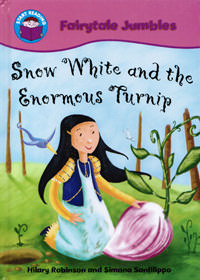 Snow White and the Enormous Turnip - front cover