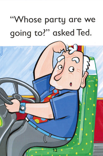 Illustration from Ted's Party Bus