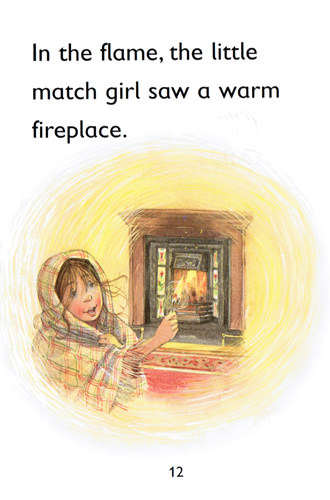 Illustration from The Little Match Girl