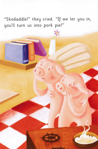 Illustration from Three Pigs and a Gingerbread Man