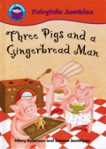 Three pigs and a gingerbread Man - front cover
